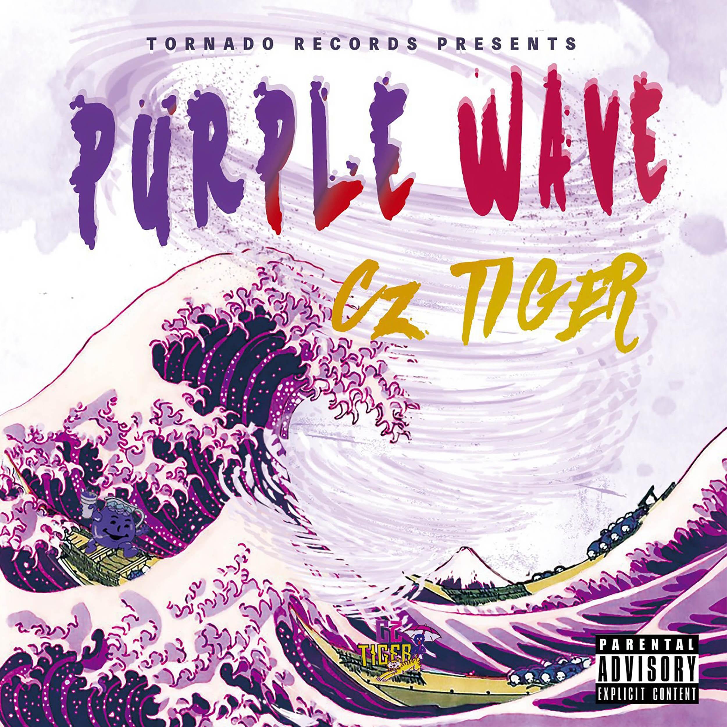 Image of PURPLE WAVE / Cz TIGER