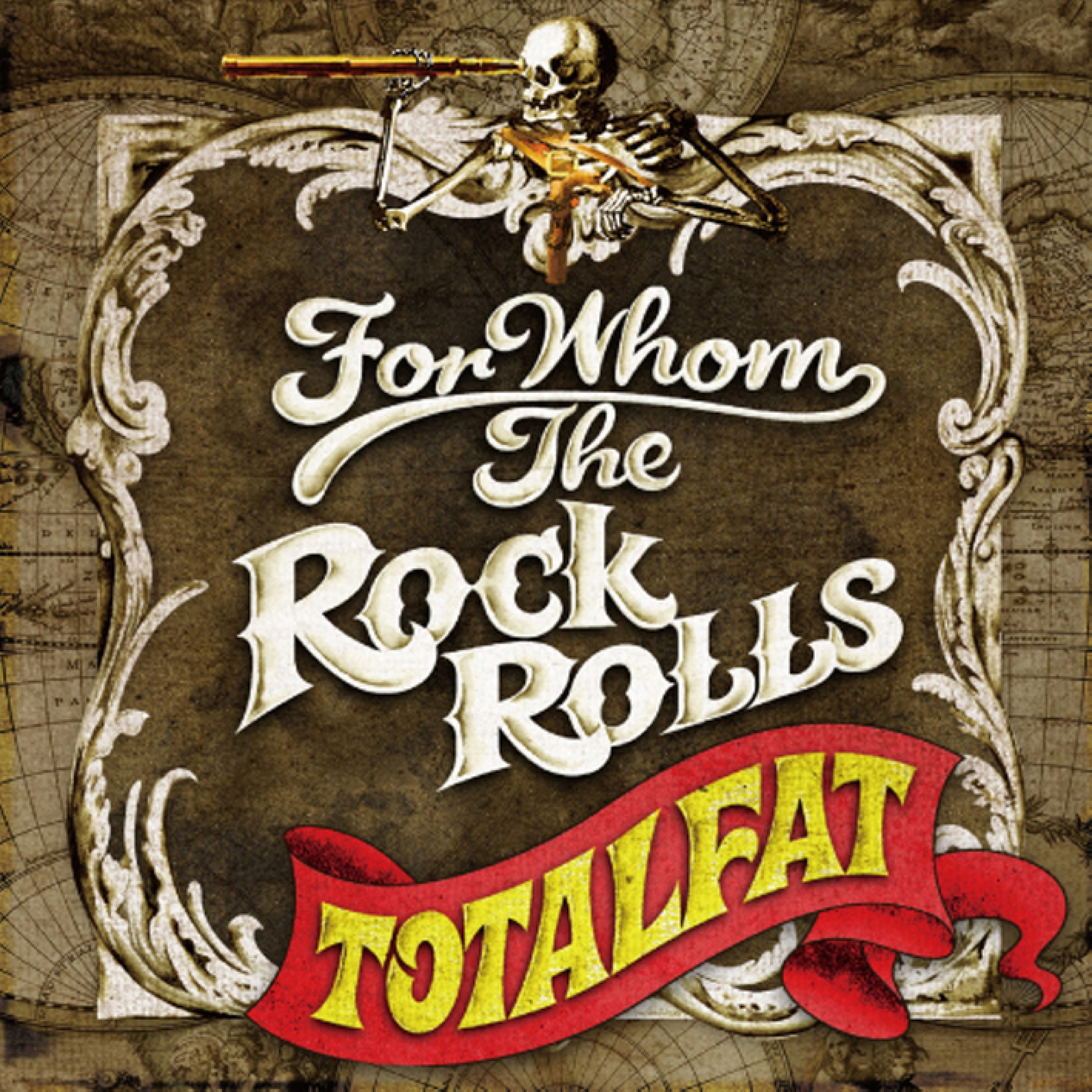 Image of FOR WHOM THE ROCK ROLLS / TOTALFAT