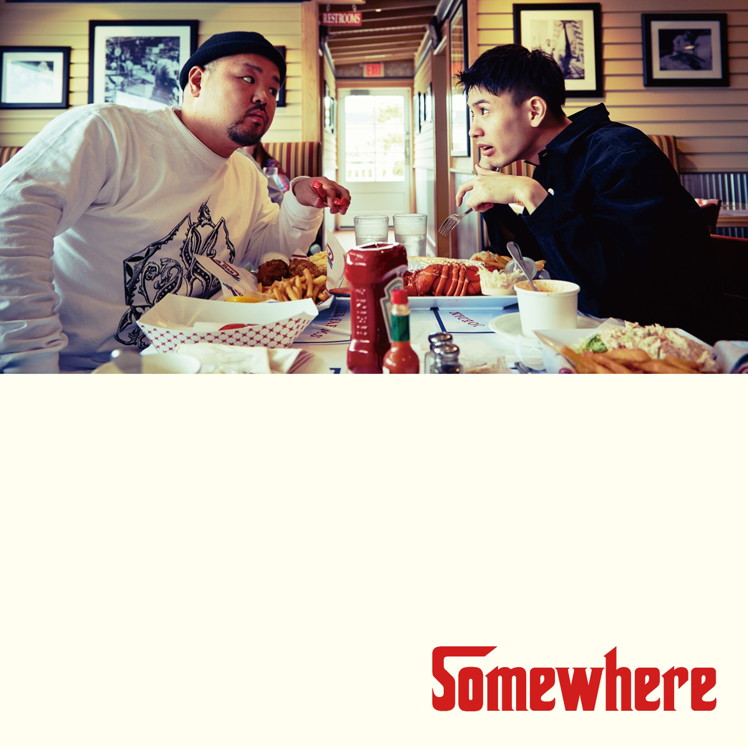 Image of Somewhere / C.O.S.A. × KID FRESINO