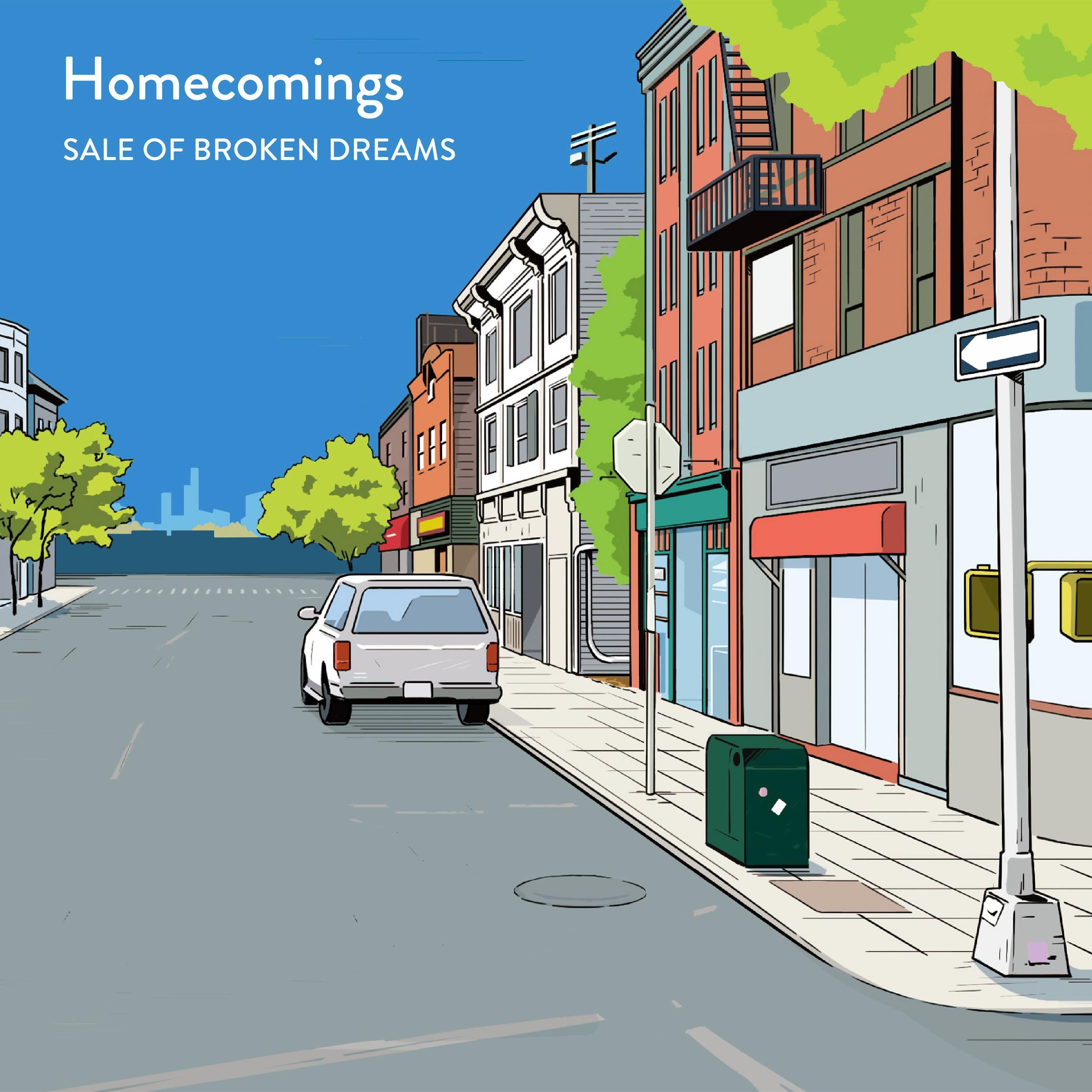 Image of SALE OF BROKEN DREAMS / Homecomings
