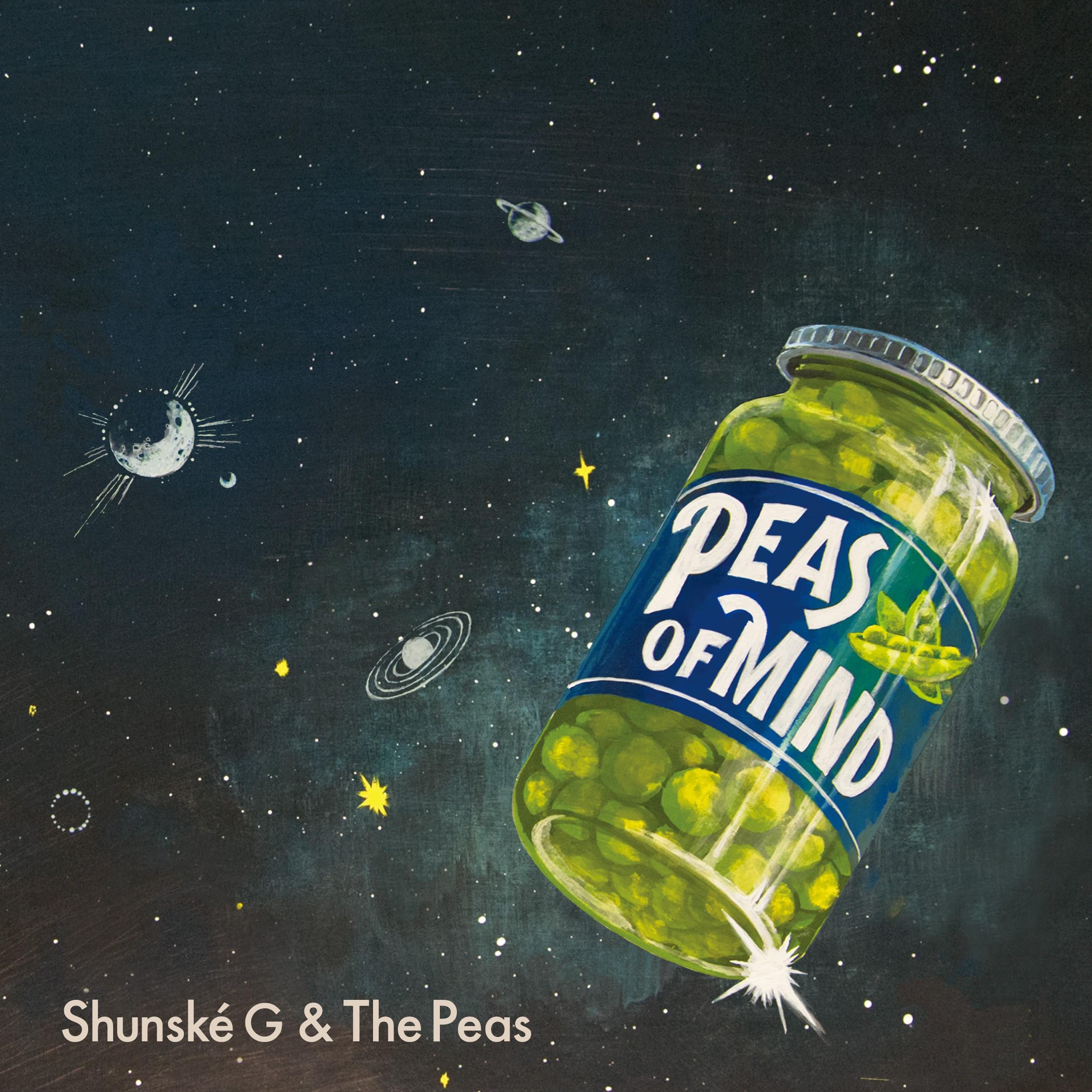 Image of PEAS OF MIND / Shunske G & The Peas