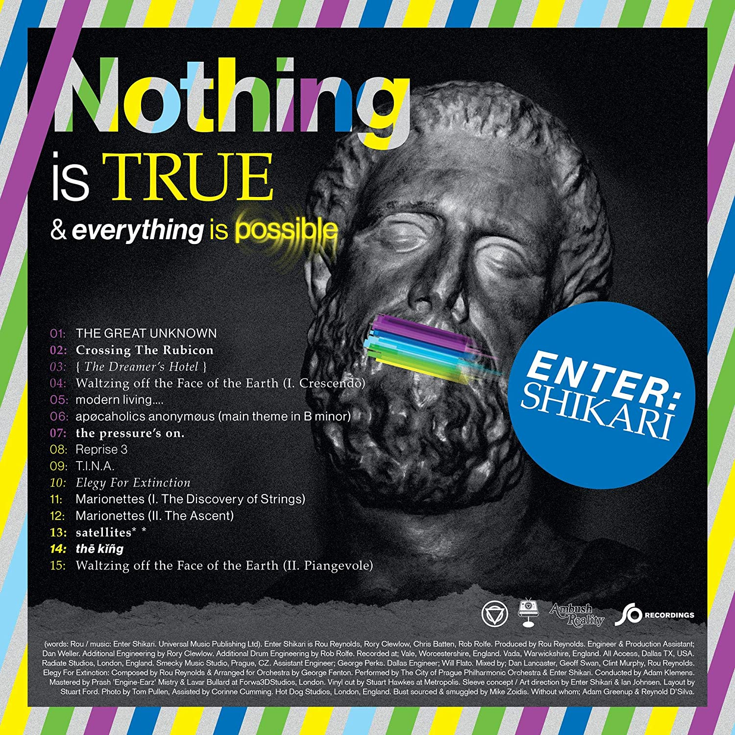 Image of Nothing is True & Everything is Possible / Enter Shikari
