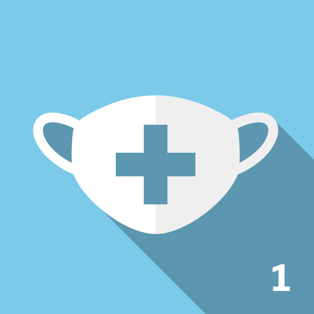 Image of ウイルス対策 B1(消毒液あり、マスクあり)