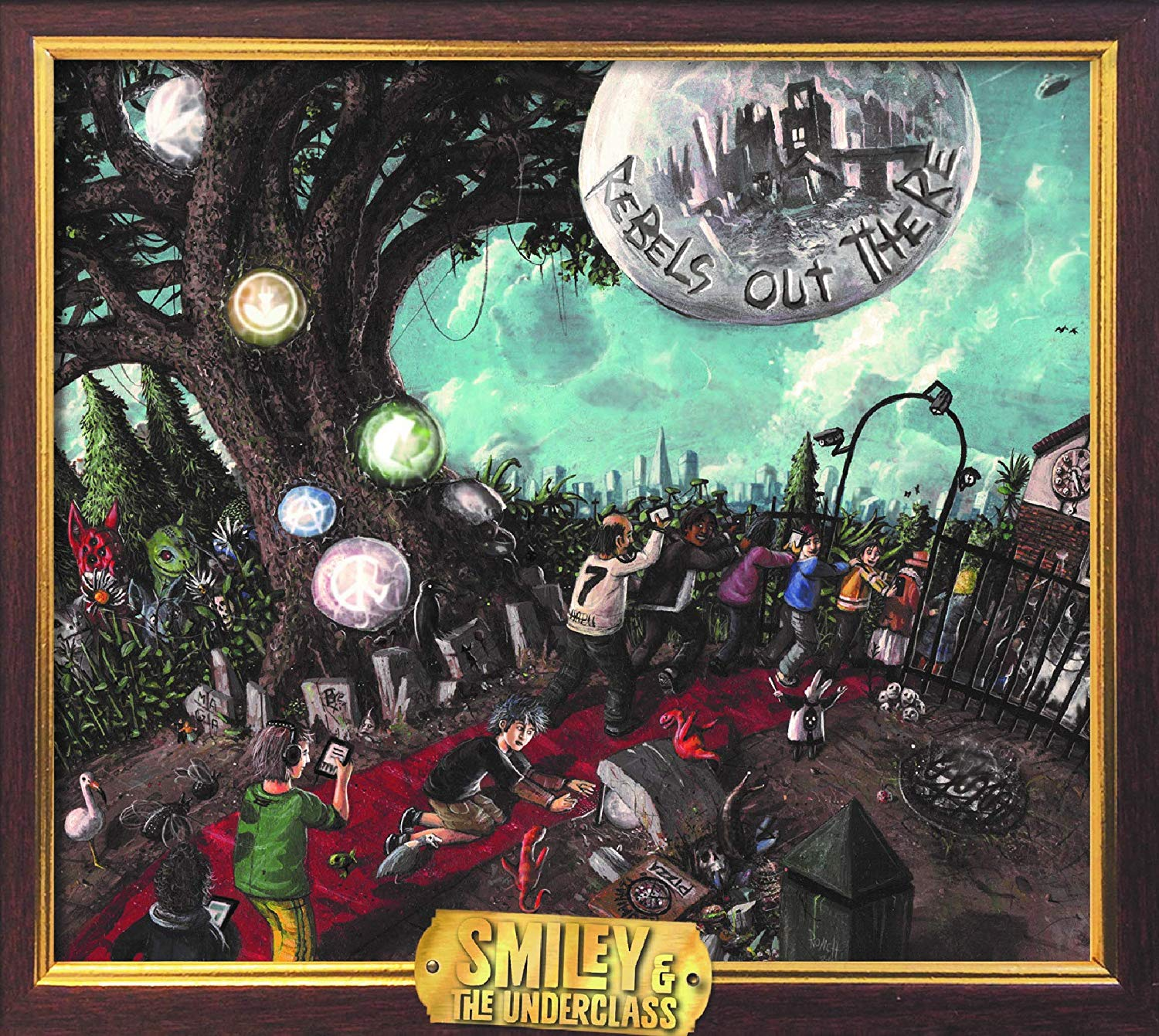 Image of Rebels Out There / Smiley & The Underclass